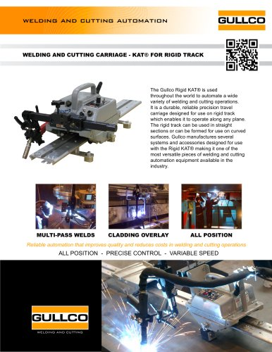 Automatic Welding Carriage for Rigid Track - KAT