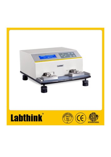 Labthink Abrasion Resistance of Printed Materials by the Sutherland Rub Tester, in Printed Polyprophylene Fabric