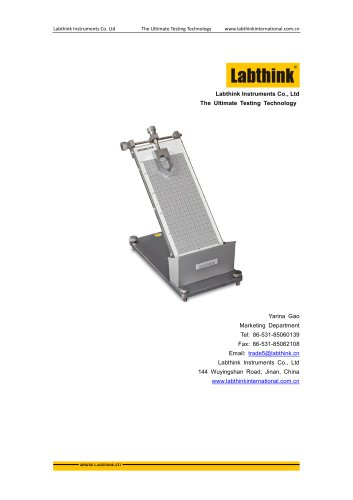 Labthink CZY-G Primary Adhesion Tester for Labels on Cosmetics Packaging