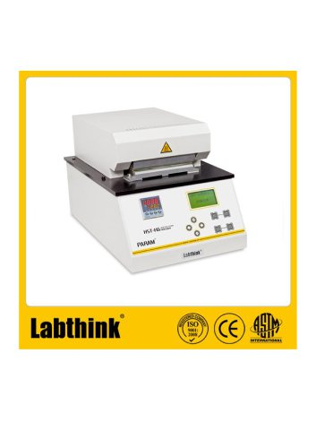 Labthink HST-H6 heat seal tester to test sealing temperatures of laminates/composite films