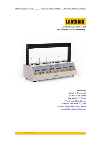 Labthink Shear Strength Test Device for Adhesive Tapes