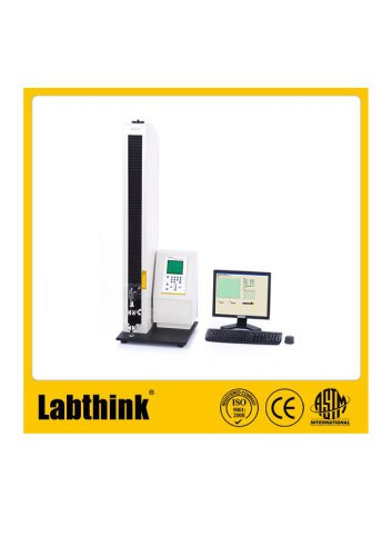 Labthink tensile Tester to check elongation %, tensile strengthof kraft paper bags and bond/seal strength in palstic laminates