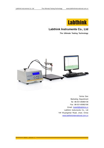 Pressure Decay Burst Creep Tester for Packaging Leak Seal Strength Testing
