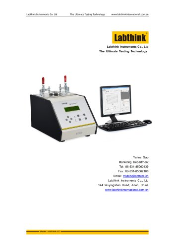 TAPPI T460 Gurley Method Air Resistance Tester of Paper from Labthink