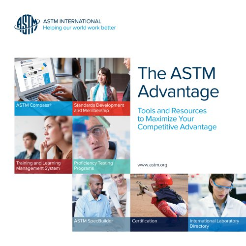 The ASTM Advantage