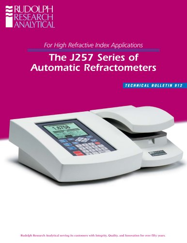automated refractometer