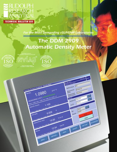 The DDM 2909 Automatic Density Meter