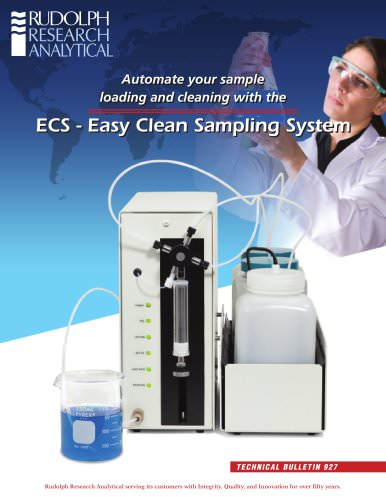 ECS - Easy Clean Sampling System