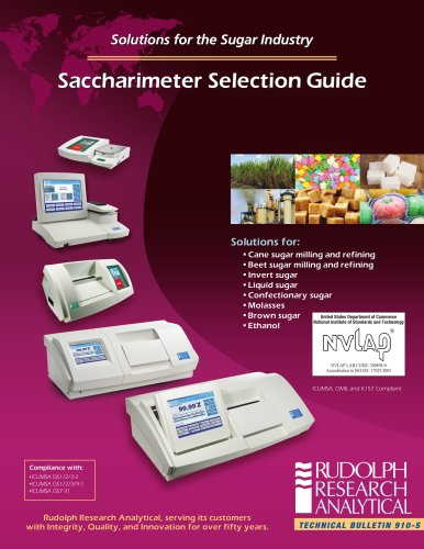 Saccharimeter Selection Guide