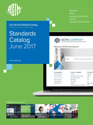 Standards catalog june 2017