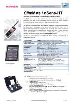 Catalogue 2017 - ClimMate handheld instrument