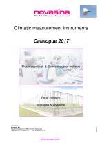 General Catalogue 2017 - Process measurement instruments