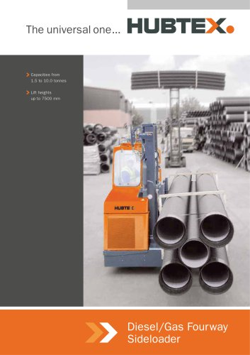Diesel/Gas Fourway Sideloader
