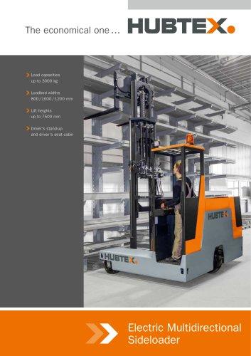 Electric-Multidirectional-Sideloader 3-wheel