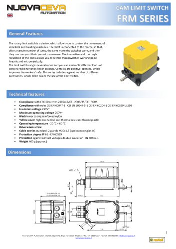 FRM Rotary Limit Switch