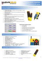 Pushbuttons Remote Controls - SAGA-K3 / SAGA-K4