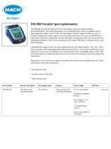 DR1900 Portable Spectrophotometer - 1
