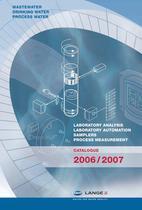 HACH LANGE CATALOGUE 2006/2007 - 1