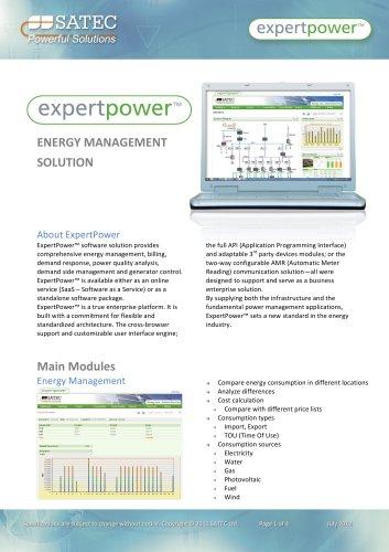 ExpertPower Datasheet