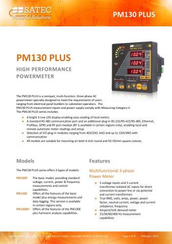 PM130 PLUS Datasheet