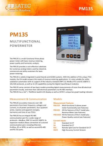 PM135 Datasheet