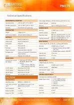 PM175 Datasheet - 3