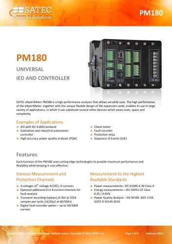 PM180 Datasheet
