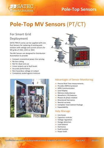 Pole‐Top MV Sensors