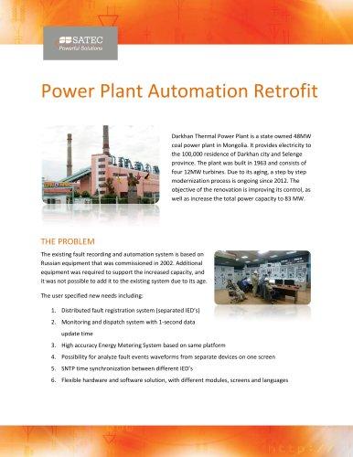 Power Plant Automation Retrofit