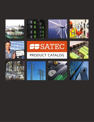 SATEC Catalog 2017
