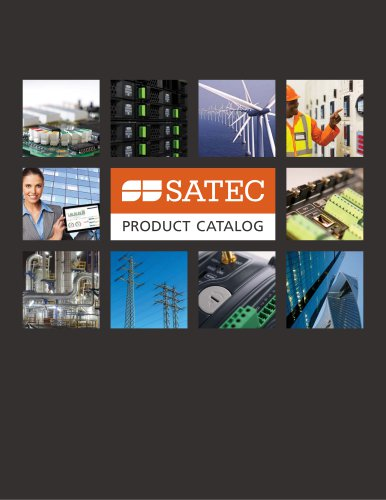 SATEC PRODUCT CATALOG