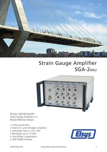 SGA-2 Strain Gauge Amplifier MK2