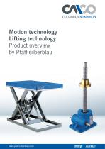 """Product overview """"Motion Technology"""" and """"LiftingTechnology"""""""