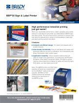 BBP®30 Sign & Label Printer