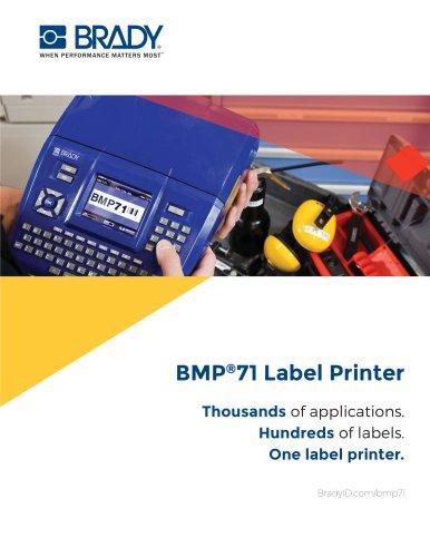 BMP®71 Label Printer