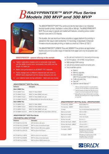 MVP Plus - Brochure