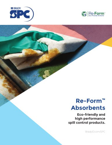 SPC Re-Form Eco-Friendly Absorbents