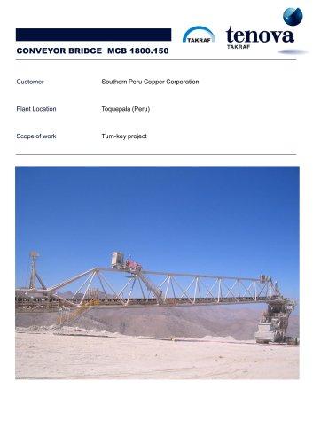 Conveyor Bridge MCB 1800.150