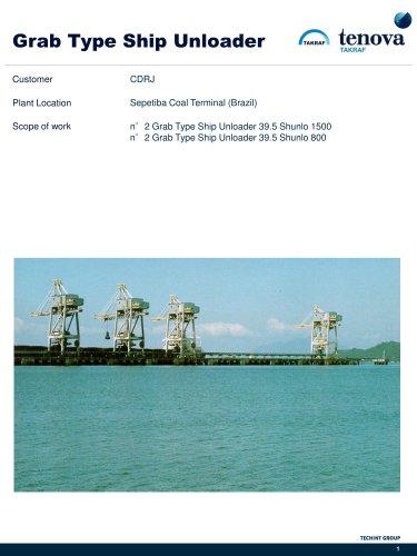 Grab Type Ship Unloader