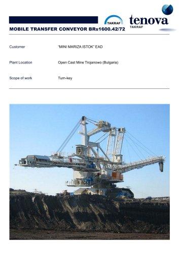 Mobile Transfer Conveyor  BRs 1600.47/72