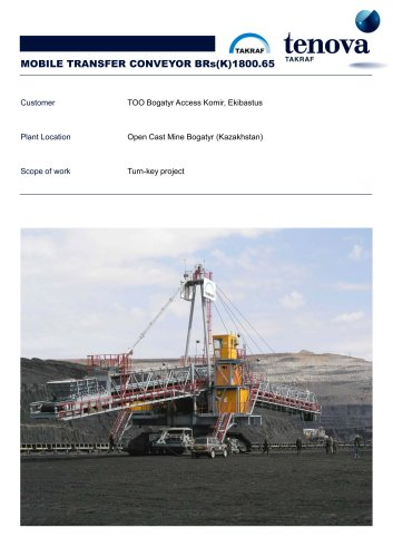 Mobile Transfer Conveyor  BRs (K) 1800.65