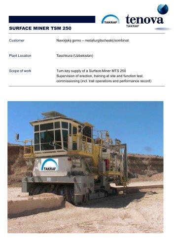 Surface Miner  TSM 250