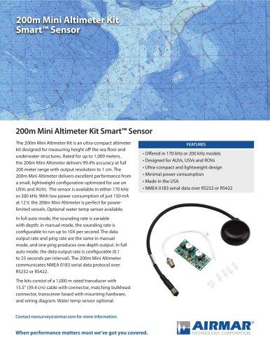 200m Mini Altimeter Kit Smart™ Sensor