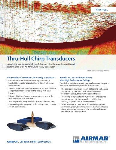 Thru-Hull Chirp Transducers