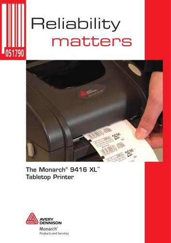 Monarch® 9416® XL® Printer