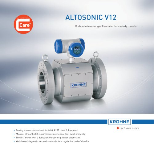 ALTOSONIC V12 Highlights