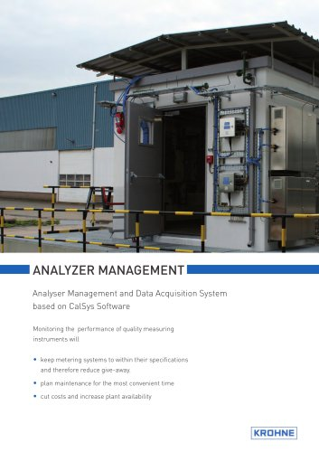 AMADAS Analyser Management