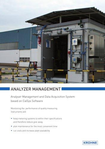 AMADAS Analyser Management