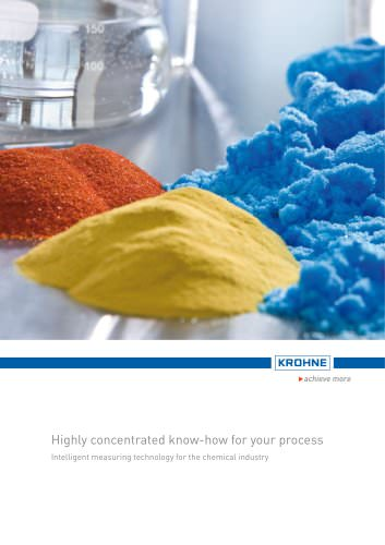 Brochure for the Chemical Industry