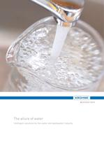 Brochure water and wastewater industry